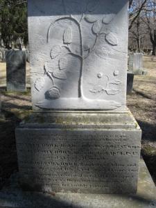 Grave Stone of Jerusha Howe
