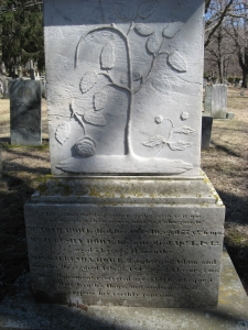 Grave Stone of Jerusha Howe