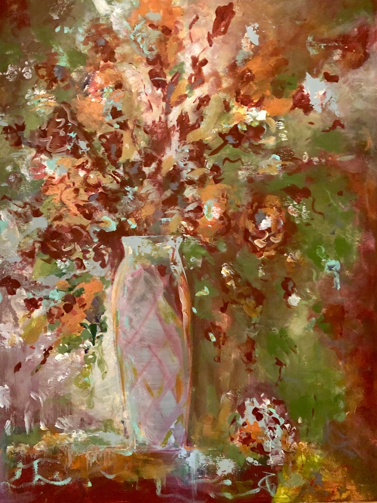 Autumnal Glory 30x40 Acrylic on Canvas $1400.00