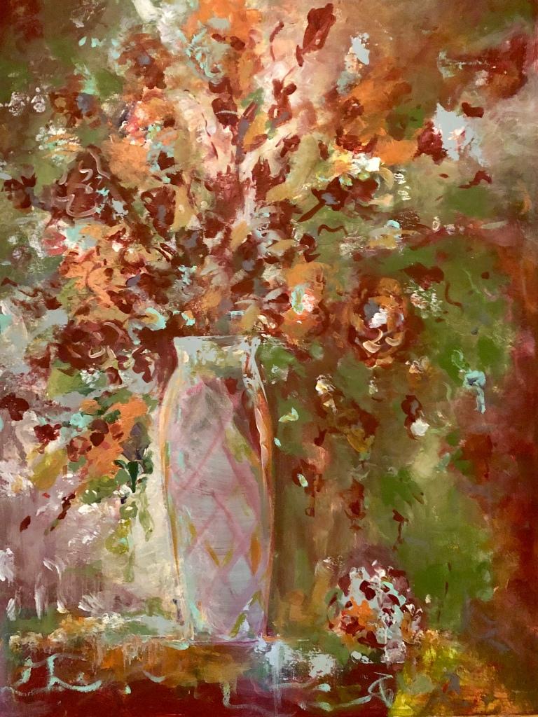 Autumnal Glory 30x40 Acrylic on Canvas $1400.00